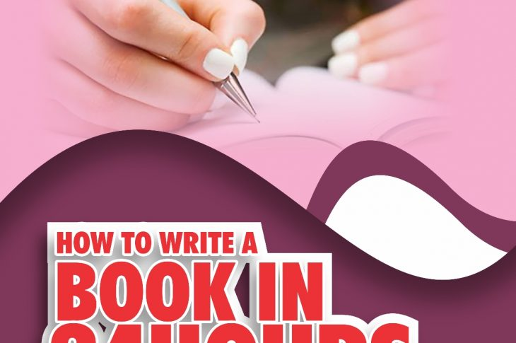 how to write a book in 24hours